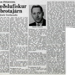 Bræðslufiskur og brotajárn