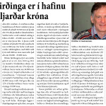 Afl Vestfirðinga er í hafinu – 300 milljarðar króna