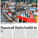 Haustrall Hafró boðið út