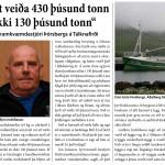 """""""Hefðum mátt veiða 430 þúsund tonn af þorski en ekki 130 þúsund tonn"""""""